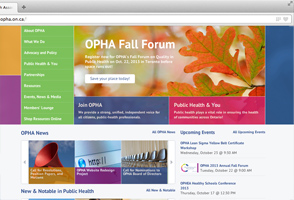 OPHA website